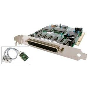 StarTech.com 8 Port PCI RS232 Serial Adapter Card High Speed 16950 cable included - 8 x DB-25 Male RS-232 Serial - Full-length Plug-in Card - DB-25 Male 4ft Fan-out Cable