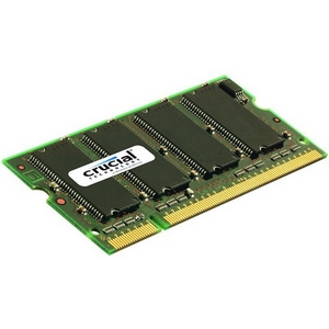 Crucial 1GB DDR SDRAM Memory Module - 1GB (1 x 1GB) - 333MHz DDR333/PC2700 - Non-ECC - DDR SDRAM - 200-pin