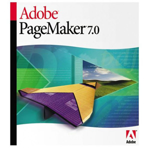 Adobe PageMaker v.7.0.2 - Complete Product - Standard - 1 User - PC