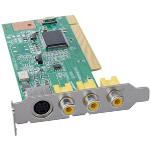 Hauppauge ImpactVCB Video Capture Card - PCI - NTSC, PAL - White Box