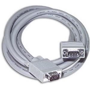 C2G Monitor Extension Cable - HD-15 Male - HD-15 Male Monitor - 50ft - Gray