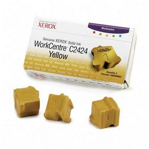 Xerox Yellow Solid Ink Sticks - Yellow - Solid Ink