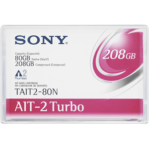 Sony AIT-2 Turbo Tape Cartridge - AIT AIT-2 - 80GB (Native) / 208GB (Compressed)