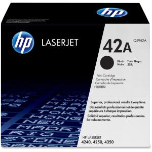 HP 42A Black Toner Cartridge - Black - Laser - 10000 Page - 1 Each
