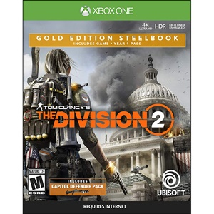 Ubisoft Tom Clancys The Division 2 SteelBook GOLD Edition UBP50422184