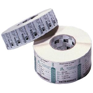 Zebra Label Paper 4 x 2.5in Thermal Transfer Zebra Z-Select 4000T 3 in core - 4&quot; Width x 2.50&quot; Length - 4 / Carton - 2220/Roll - 3&quot; Core - Paper - Thermal Transfer - White