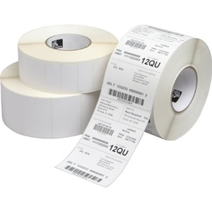Zebra Label Paper 4 x 6in Thermal Transfer Zebra Z-Select 4000T Fan-fold - 4&quot; Width x 6&quot; Length - 6 / Carton - 900/Roll - Paper - Thermal Transfer - White