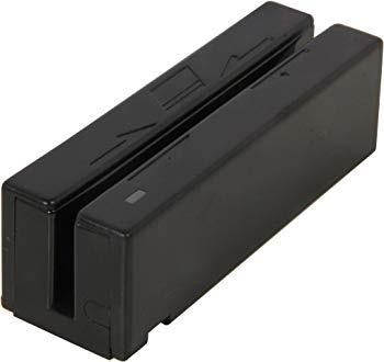MagTek Magnetic Stripe Swipe Card Reader - Dual Track - 50in/s - USB, Keyboard Wedge - Black