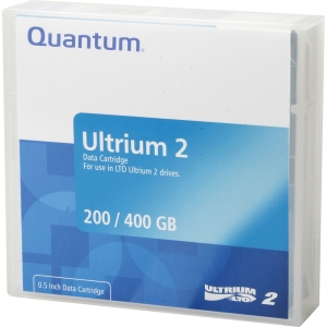 Quantum LTO Ultrium tape cartridges - LTO Ultrium LTO-2 - 200GB (Native) / 400GB (Compressed)