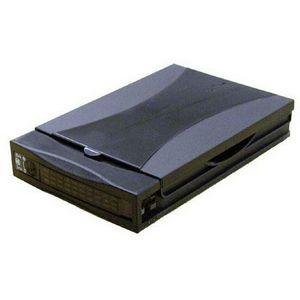 "Addonics Mobile Rack Hard Drive Enclosure - Storage Enclosure - 1 x 3.5"" - 1/3H Internal  - Black"