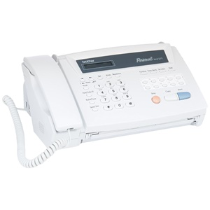 Brother FAX-275 Thermal Transfer Fax Machine - Thermal Paper Fax - Monochrome Copier - Thermal Transfer