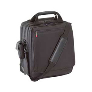 Targus Vertical Roller Notebook Case - Top-loading - Shoulder Strap, Handle - Ballistic Nylon - Black