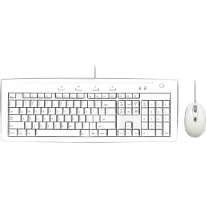 Macally iKey Slim Combo - Keyboard - Cable - 104 - Mouse - Optical