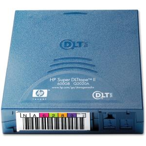 HP Super DLTtape II Tape Cartridge - Super DLT - Super DLTtape II - 300 GB (Native) / 600 GB (Compressed) - 1 Pack