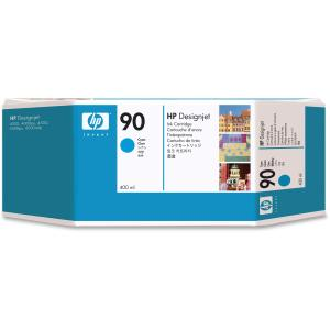 HP 90 Cyan Ink Cartridge - Cyan - Inkjet - 1 Each