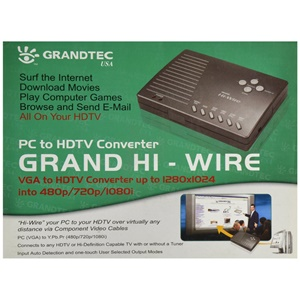 Grandtec Hi-Wire VGA to HDTV - VGA - NTSC, PAL