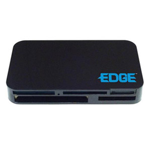 EDGE Tech All In 1 Digital Camera Card Reader USB 2.0 W/XD Slot - CompactFlash Type I, CompactFlash Type II, Microdrive, SmartMedia Card (SM), Secure Digital (SD) Card, MultiMediaCard (MMC), Memory Stick, Memory Stick PRO, Memory Stick Duo, xD-Picture Car