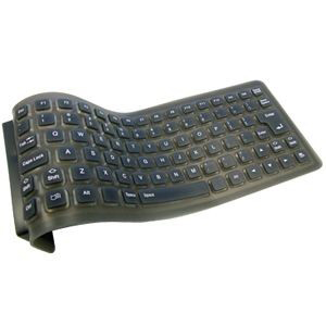 Adesso AKB-210 Foldable Mini Keyboard - USB - 85 Keys