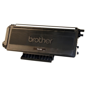 Brother TN550 Toner Cartridge - Black - Laser - 3500 Page - 1 Each