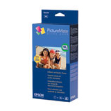 Epson PictureMate Print Pack For PictureMate, PictureMate Deluxe Viewer Edition and PictureMate Express Edition Printers - Tank, Sheet