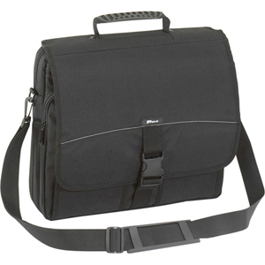 "Targus Messenger 15.6"" Notebook Case - Top-loading - Handle, Shoulder Strap - 2 Pocket - Polyester - Black"