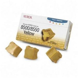 Xerox Yellow Solid Ink - Yellow - Solid Ink - 3000 Page - 3 / Box