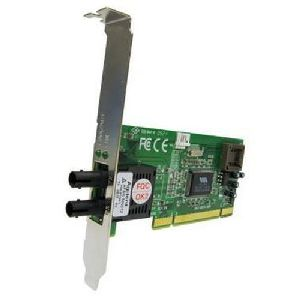Transition Networks Fast Ethernet 100BASE-FX Network Interface Card - PCI - 1 x ST  - 100Base-FX