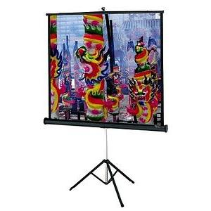 "Da-Lite Versatol Portable and Tripod Projection Screen - 43"" x 57"" - Matte White - 72"" Diagonal"