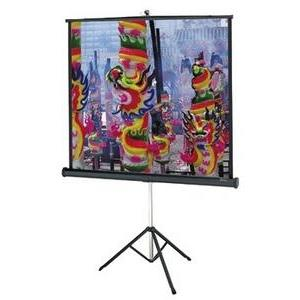 "Da-Lite Versatol Tripod Projection Screen - 40"" x 40"" - Matte White - 57"" Diagonal"