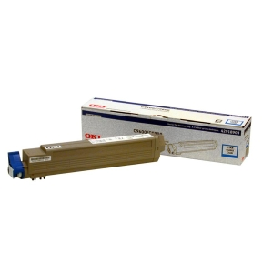 Oki Type C7 Cyan Toner Cartridge - Cyan - LED - 15000 Page - 1 Each