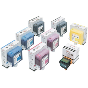 Canon BCI-1441Y Ink Tank For imagePROGRAF W8400 Printer - Inkjet - Yellow
