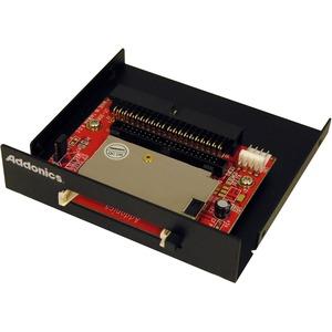"Addonics DigiDrive Internal IDE CompactFlash Card Reader/Writer 3.5"" - Black 3-in-1 - Microdrive, CompactFlash Type I, CompactFlash Type II"