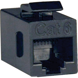 Tripp Lite Cat. 6 Straight Through Modular In-line Coupler - 1 x RJ-45 Female - 1 x RJ-45 Female