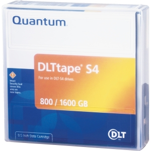 Quantum DLTtape S4 Cartridge - DLT DLTtape S4 - 0.8TB (Native) / 1.6TB (Compressed)