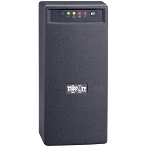 Tripp Lite OmniSmart 500VA Tower UPS with Built-in Isolation Transformer - 500VA/300W - 5 Minute Full Load - 3 x NEMA 5-15R - Surge-protected