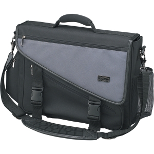 Tripp Lite Profile Notebook Brief - Top-loading - Nylon - Charcoal Gray, Black