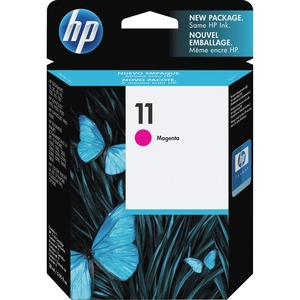 HP 11 Magenta Ink Cartridge - Magenta - Inkjet - 1750 Page - 1 Each