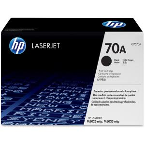 HP 70A Black Toner Cartridge - Black - Laser - 15000 Page - 1 Each