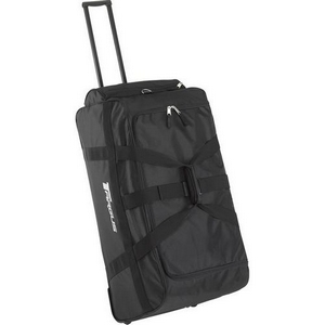 Targus Extra Large Capacity Rolling Duffle Bag - Retractable Handle, Shoulder Strap - 2, 1 Pocket - Nylon
