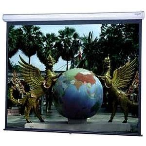 "Da-Lite Model C With CSR Manual Wall and Ceiling Projection Screen - 96"" x 96"" - Matte White - 136"" Diagonal"