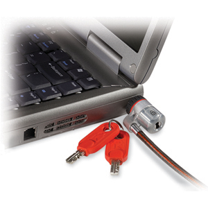 Kensington K64343 DS Keyed Notebook Lock - Patented T-bar Lock - Steel - 6ft