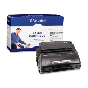 Verbatim HP Q5942X Compatible HY Toner Cartridge - Black - Laser - 20000 Page - 1 / Pack