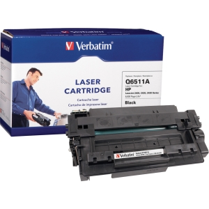 Verbatim HP Q6511A Compatible Toner Cartridge - Black - Laser - 6000 Page - 1 / Pack