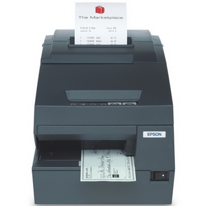 Epson TM-H6000III POS Thermal Receipt Printer - Monochrome - 200 mm/s Mono - 180 dpi - Serial