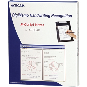 Solidtek ACECAD DigiMemo Handwriting Recognition software DM-OCR - OCR Utility - Standard - PC