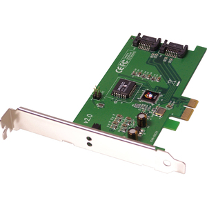 SIIG SC-SAE012-S2 2-port PCI Express Serial ATA Controller - 2 x  Serial ATA/300 Serial ATA