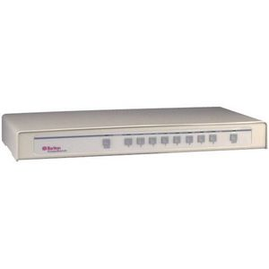 Raritan CompuSwitch CS2-PENT KVM Switch - 2 x 1 - 2 x DB-25 Keyboard/Mouse/Video - Desktop, 1U - Rack-mountable