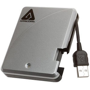 "Apricorn Aegis 160 GB 2.5"" External Hard Drive - USB 2.0 - 5400 rpm - 8 MB Buffer"