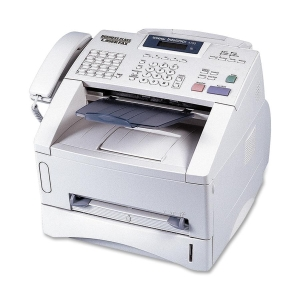 Brother IntelliFax 4100E Plain Paper Laser Fax/Copier - Laser - Monochrome - 15 cpm Mono - 600 dpi - Plain Paper Fax