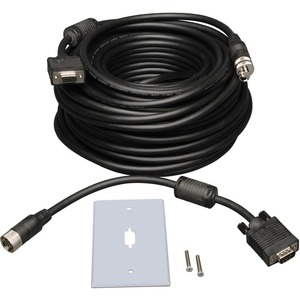 Tripp Lite SVGA/VGA EZ-Pull Monitor Extension Cable - HD-15 Male - HD-15 Female - 50ft